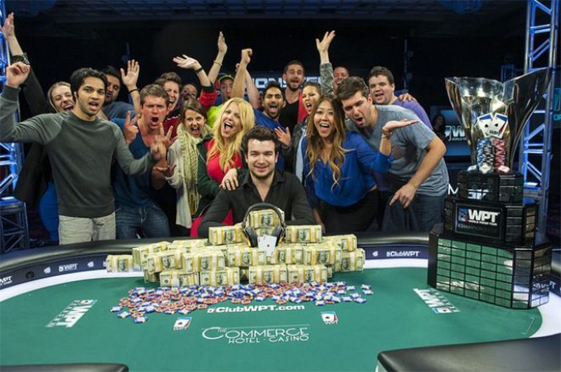 Chris Moorman won $1,015,460 in his first live major poker tournament success