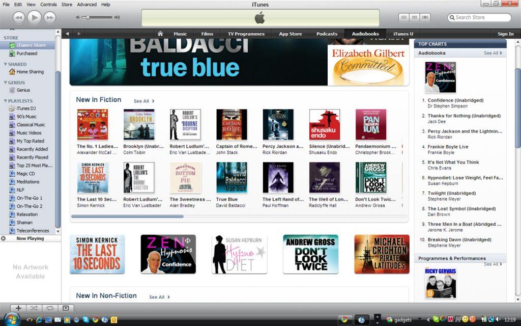 zen iTunes chart